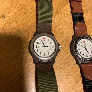 Victorinox Accessories - Swiss Army Watch Bundle Pair!